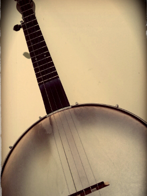 image of a banjo